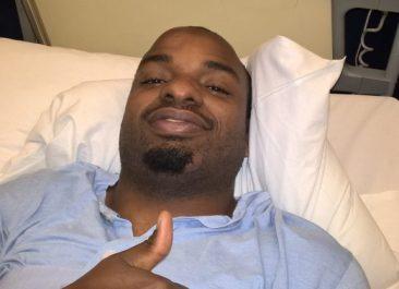 Marcus Van kotiutui sairaalasta