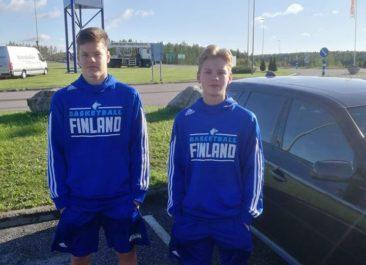 Tommi Lehtonen ja Aamos Nikula maajoukkueen mukana Espanjaan