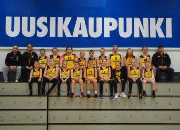 Poikien U14-joukkue kevääksi SM-sarjaan
