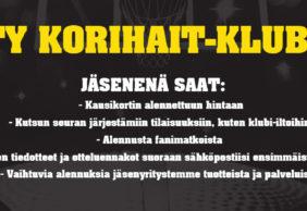 Liity Korihait-klubiin!
