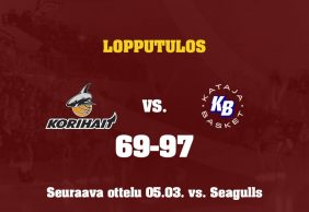 Otteluraportti: Korihait – Kataja Basket 69-97
