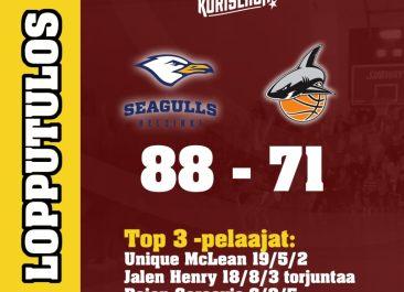 Seagulls – Korihait 88-71